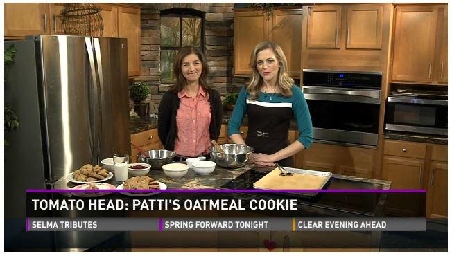 TomatoHead's Infamous Patti Oatmeal Cookie WBIR