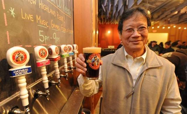 Oscar Wong from Highland Brewing Company