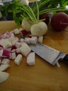 Diced and Ready to Go in the Pot